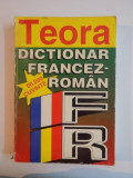 DICTIONAR FRANCEZ-ROMAN , 60000 CUVINTE de SANDA MIHAESCU-CISTEANU , EDITIA A II A 1997