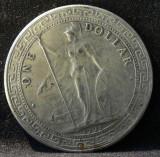 Monede One Dollar 1911 - Exchange Dollar Britannia, Asia