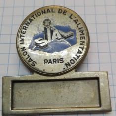 Insigna Franta 1964 - Salon International Alimentation Paris