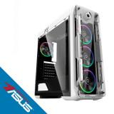 Sistem desktop Fury Powered by ASUS AMD Ryzen 7 2700X Octa Core 3.7 GHz 32GB RAM DDR4 nVidia GeForce GTX 1660 Ti STRIX GAMING O6G 6GB GDDR6 SSD 240GB