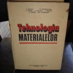 TEHNOLOGIA MATERIALELOR - A. PALFALVI