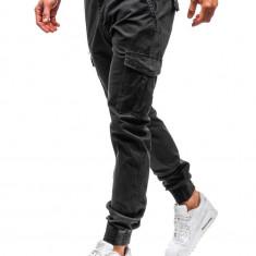 Pantaloni joggers cargo bărbat grafit Bolf 5399