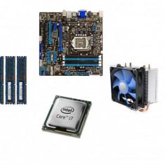 KIT Placa de baza (SHD) Asus P8H77-M + Intel® Core i7-2600 + 8GB DDR3 1600Mhz, Pentru INTEL, 1155, DDR 3