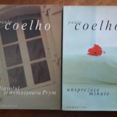 Unsprezece minute + alte 2 carti de Paulo Coelho / R4P2F