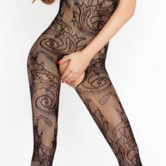 Catsuit Delora negru