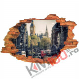 "Sticker ""Wall Crack"" Londra 13 - 120 x 80 cm"