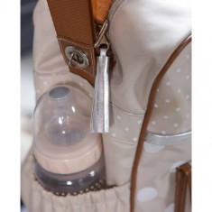 Geanta pentru scutece cu aleza inclusa Bebe Jou Natural