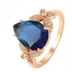 Inel Luxury Blue Royal Sapphire