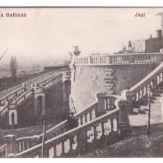 IASI-RAPA GALBENA-CARTE POSTALA UPU-1906