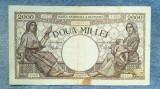 2000 lei 18 noiembrie 1941 bancnota Romania