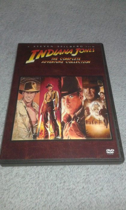 Indiana Jones colectie 4 DVD subtitrate in romana