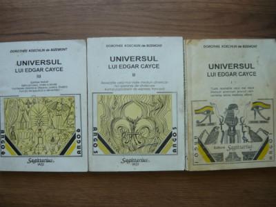 DOROTHEE KOECHLIN de BIZEMONT - UNIVERSUL LUI EDGAR CAYCE - 3 volume foto