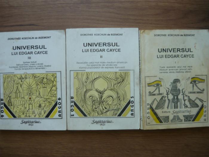 DOROTHEE KOECHLIN de BIZEMONT - UNIVERSUL LUI EDGAR CAYCE - 3 volume