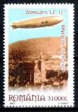 Romania 2004, LP 1652, Zeppelin deasupra Brasovului, seria, MNH! LP 6,50 lei
