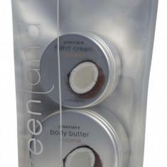 Pachet Promotional Greenland Crema de Maini Unt de Corp cu Cocos