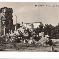 CPI B 11944 CARTE POSTALA - TURNU SEVERIN. RUINELE CETATII DROBETA, RPR