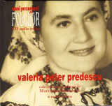 CD Valeria Peter Predescu – Mari Interpreți De Folclor - Valeria Peter Predescu
