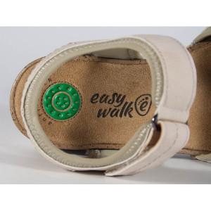 Sandale comfort roz cu platforma (cod 4075)