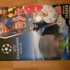 Album gol stickere, Topps, UCL 2016/2017