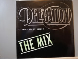 Delegation feat Ricky Bailey – Mix (1989/ZYX/RFG) - Vinil Maxi Single 45rpm/NM+, rca records