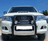 Cumpara ieftin Bullbar poliuretan cu proiectoare Toyota Hilux 2005, 2006, 2007, 2008, 2009, 2010, 2011 TYA405