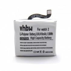 Acumulator pentru huawei smartwatch watch 2 wie hb512627ecw u.a. 410mah, 1ICP5/26/27,