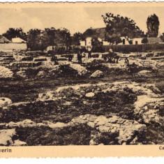 TURNU SEVERIN-CASTRUL ROMAN-CARTE POSTALA ANII 40