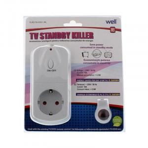 Economizor energie electrica cu telecomanda Well
