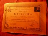 Diploma Micul Chitarist - Fundatia Romana de Chitara- Festival Internat.2015