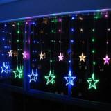 Instalatie Ghirlanda 12 Stele Luminoase Multicolore 3x1m P FI