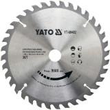 Disc circular lemn, 180 x 20 x 2.4 mm, 36 dinti Yato YT-60482