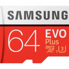 Card de memorie Samsung MB-MC64GA/EU MEVO Plus 64GB Class 10 UHS-1 + Adaptor SD