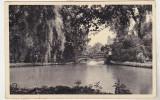 Bnk cp Bucuresti - Vedere din parcul Cismigiu - circulata 1936, Fotografie