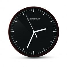Ceas de perete Quartz, cadran cu linii, 20 cm, Esperanza Budapest