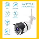 Camera supraveghere IP wireless 720P HD exterior IP66, Kit supraveghere Wi-Fi
