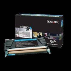 Consumabil Lexmark Consumabil toner pt C748 Cyan High Yield Return Program Toner Cartridge10000 pages