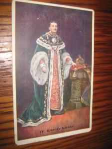 A999-Carol 1-imparat Austria si rege Ungaria 1887-1922. Carte postala veche 1920