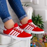 Pantofi sport Acadia rosii -rl