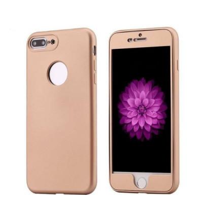 Husa Floveme 2in1 Full Cover Aurie Pentru Iphone 6 Plus6S Plus foto