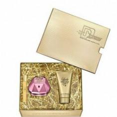 Set cadou Paco Rabanne Lady Million Empire (Apa de parfum 50 ml + Lotiune de corp 75 ml + Apa de parfum 10 ml), pentru femei