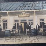 Carte poștală Pașcani - 1908, Circulata, Printata, Stanca