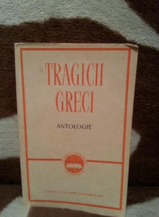 TRAGICII GRECI (TEATRU)-ESCHIL/SOFOCLE/EURIPIDE