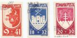 România, LP 148I/1942, Un an Bucovina, serie obliterată