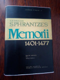 Georgios Sphrantzes Memorii 1401 1477