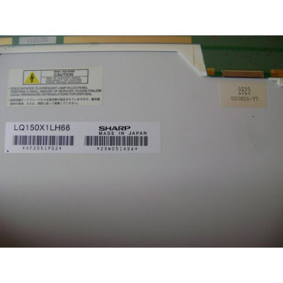 Display Laptop Toshiba? S2400-103 second hand Sharp LQ150X1LH66 15-inch?? foto