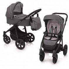 Carucior 2 in 1 Baby Design Lupo Comfort 17 Graphite 2019