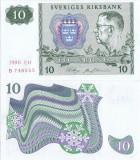 1990, 10 Kronor (P-52e.8) - Suedia - stare UNC