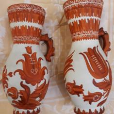 Ceramica veche România (Marginea Sv sau Ardeal???) - Lot de doua vase vechi