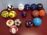 Mini mingi fotbal Adidas, Uefa, Romania - ORIGINALE , de colectie !!!
