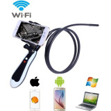 Camera endoscop Wi-Fi, 6xLED, HD 720P, Android Windows iOS, USB, Resigilata